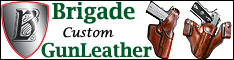 Brigade GunLeather- Holsters, Leather Gun Holsters, Accessories