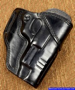 Springfield XDM Leather Gun Holster Outside Waistband Carry