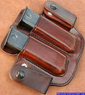 M-20D Dual IWB Magazine Pouch Inside Waistband Pouch Leather