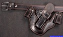 "Kimber 3"" 1911 Pistol gun holster and belt for concealed carry IWB"
