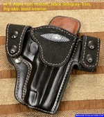 Custom Holsters, M-5 Aspis Exotic Skin Stingray