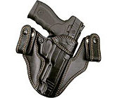 Visit my shop for custom leather gun holsters for concealed carry