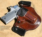 Horse hide holsters gun holsters horsehide