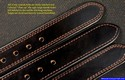 finely stitched custom leather dress belts brigade gunleather