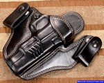 Springfield xd 5.25 gun holster leather