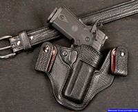 A superb concealed carry gun holster for an STI 2011 Pistol
